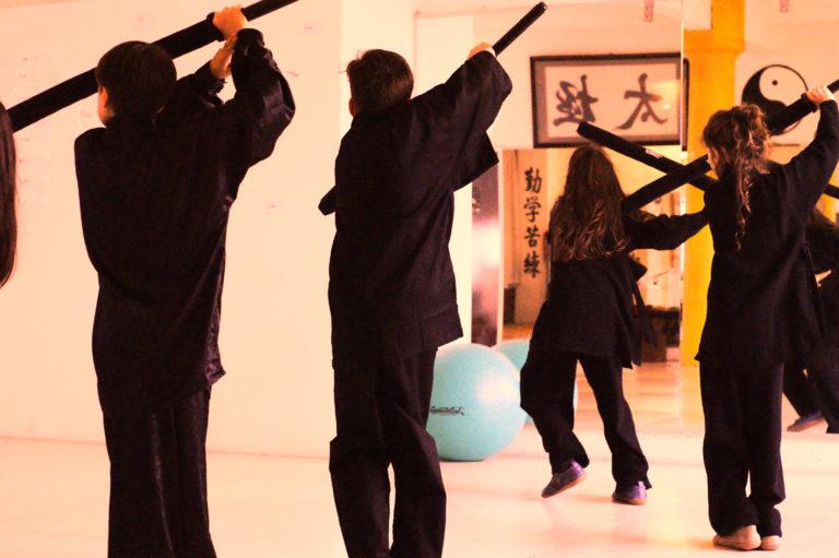 Kinder Kung Fu Drachen