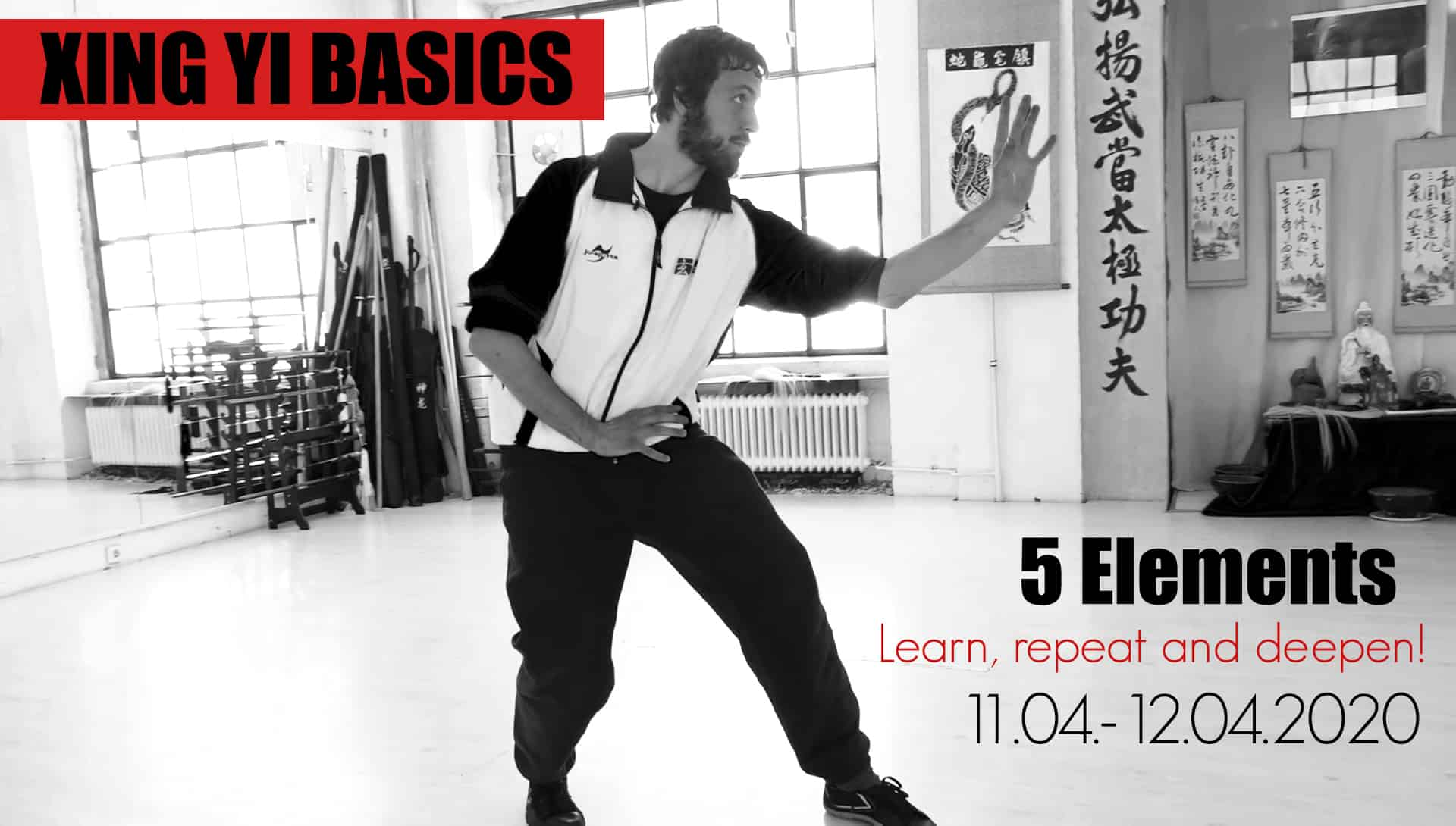 -CANCELED- XING YI BASIC SEMINAR